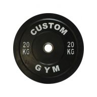 Bumper plate 20 kg CUSTOM GYM, Disques cross training